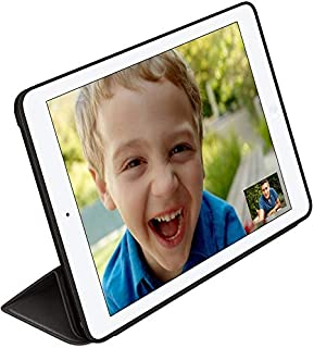 Tri-fold Smart Leatherette Case for Apple iPad Air 2 - Black