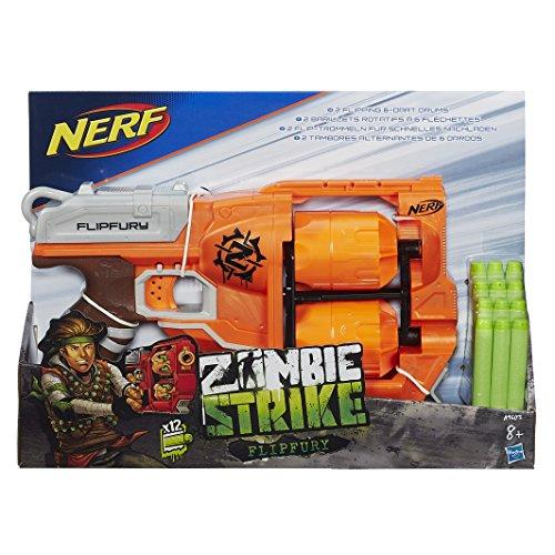 Nerf Zombie Flipfury et Flechettes Nerf Zombie Officielles