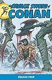 The Savage Sword of Conan Volume 4