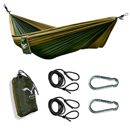 HAWK OUTDOORS Ultraleicht Hängematte Outdoor | Hänge Matte...