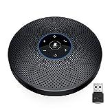 eMeet Bluetooth Konferenzlautsprecher - M2 Max USB Freisprecheinrichtung für 10-15 Personen,...