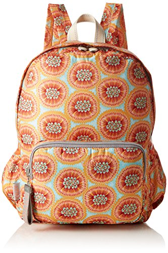 Oilily Damen Enjoy Passion Fruit Backpack Lvz Rucksackhandtasche, Orange (Orange), 13x40x30 cm