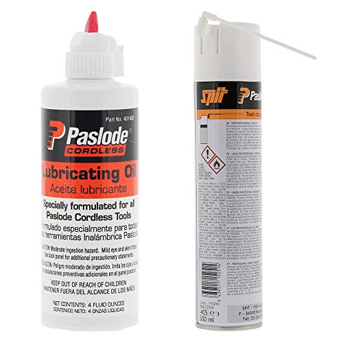 SET Paslode Impulse Öl (115 ml), Spit Pulsa Cleaner by DAKL