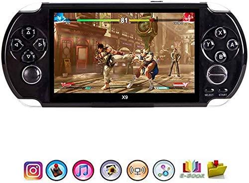 JFZCBXD Console de Jeux Portable, écran 5,1Inch 3000 Jeux intégrés Console Portable Jeu pour Les Enfants, Arcade Classic TV Sortie vidéo Game Player