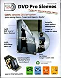 DISCSOX DVD PRO POLY DVD SLEEVES- 25Pack
