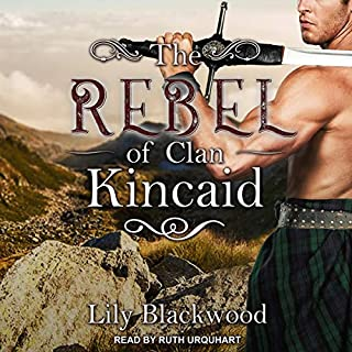 The Rebel of Clan Kincaid audiobook cover art