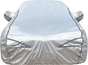 Car Cover Compatible with Jaguar XE XF XJ XK XLE XFL S-TYPE I-PACE F-PACE F-TYPE E-PACE Waterproof Breathable Windproof Full Car Covers Color : Red, Size : E-PACE