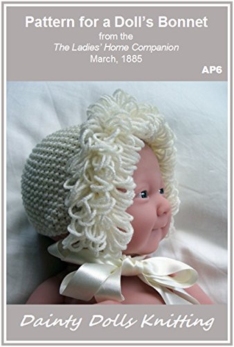 Pattern for a Doll's Bonnet (English Edition)