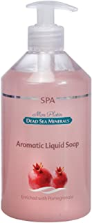 ザクロ香料の石鹸液 500mL 死海ミネラル Aromatic liquid soap with Pomegrante