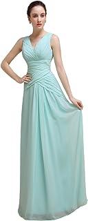 YesDress - Robe - Femme - bleu -