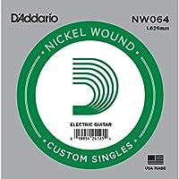 D'Addario ダダリオ エレキギター用バラ弦 ニッケル .064 NW064 【国内正規品】
