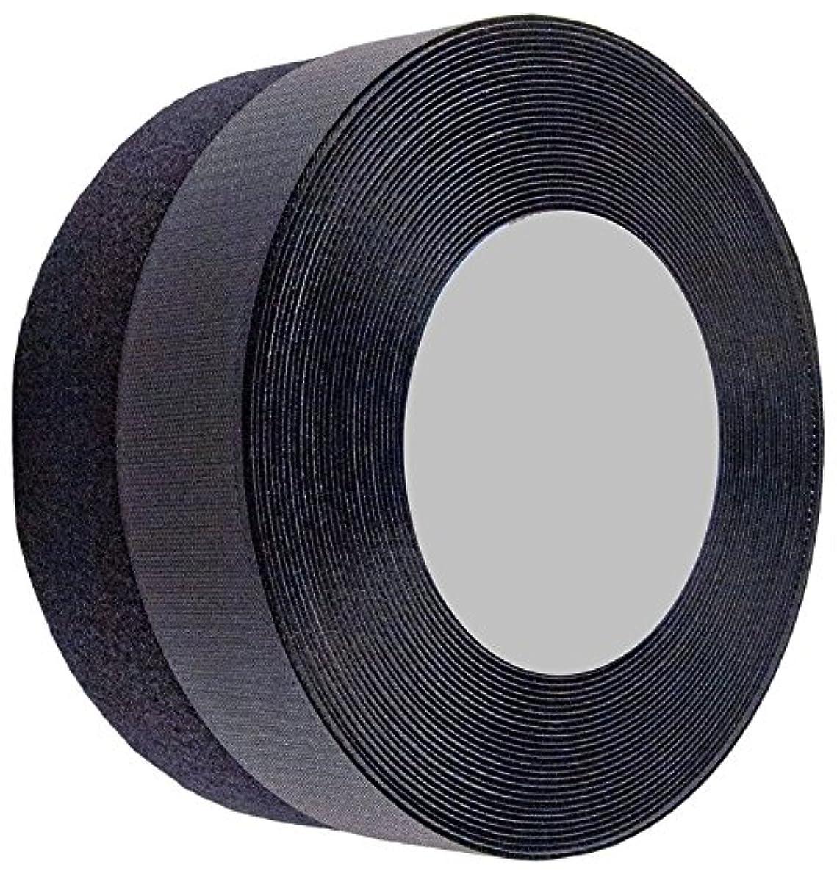 Sea Star 2 inch 10 Yards Black Sew on Hook and Loop Sew On Fasteners (10yards, Black)
