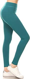 Premium Inner Pocket Yoga Leggings & Cotton Solid Leggings