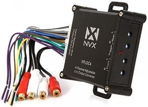 NVX XPLOC4 600W (150W Per Channel Premium, Super Low Distortion 4-Channel Adjustable Line Output Converter LOC