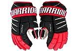 Warrior Senior Alpha Qx Pro Gloves, Size 15, Black/Red/White
