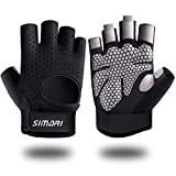 SIMARI Workout Gloves for Men Women, Weight Lifting Gloves, Gym Gloves, Breathable Non-Slip Palm Protection Great for Lifting Weightlifting Lifts Fitness Exercise Training SG-907