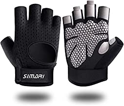 SIMARI Workout Gloves Weight Lifting Gym Gloves for Men Women, Full Palm Protection, Breathble and Durable, for Weightlifting, Training, Fitness, Exercise Hanging, Pull ups Updated 2021 SG907