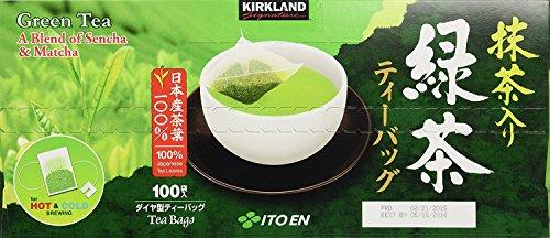 Kirkland Ito En Matcha Blend Japanese Green Tea-200 ct 1.5g tea bags