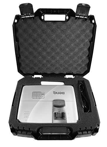 Casematix Protective Projector Travel Carry Case Compatible with BenQ Ms524, Ms524a, Mw526, w1070, Mx525, Mw571, Mx570, Ms504a Projectors, Includes Case Only