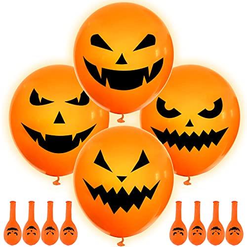 Halloween Light Up Round Balloons