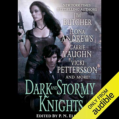 Dark and Stormy Knights Audiobook By Ilona Andrews, Jim Butcher, Shannon K Butcher, Rachel Caine, P. N. Elrod, Deidre Knight, Vicki Pettersson, Lilith Saintcrow, Carrie Vaughn cover art