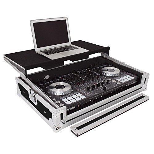Gorilla Cases Pioneer DDJ-SX / SX2 DJ Controller Flight Case With Laptop Shelf inc Lifetime Warranty