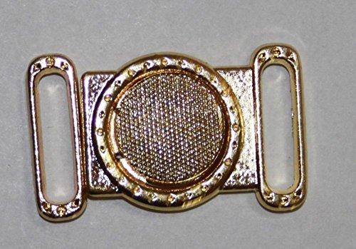 Bikinisluiting 13 mm bikinisluiting bikini metaal zilver goud 85205