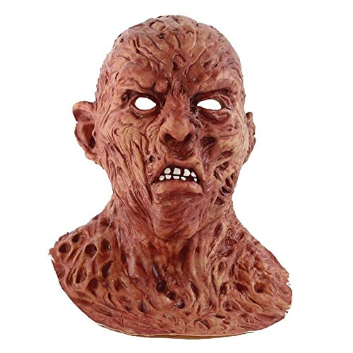 LZRDZSWCW Halloween Horror Biochemistry Zombie Maske, Adult Party Kostüm Horror Maske, Scary Dance Carnival Cosplay Zombie Maske Karnevalsmaske, gruselig