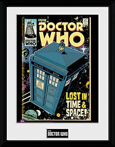 GB eye Doctor Who Charlotte Mall Tarids Ranking TOP4 Framed 16x12 Photograph Mult Comic
