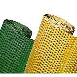 Arelle in pvc colore naturale per giardino 200x300 effetto bamboo protegge la tua privacy