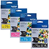 Brother LC75 High Yield Ink Cartridge Set