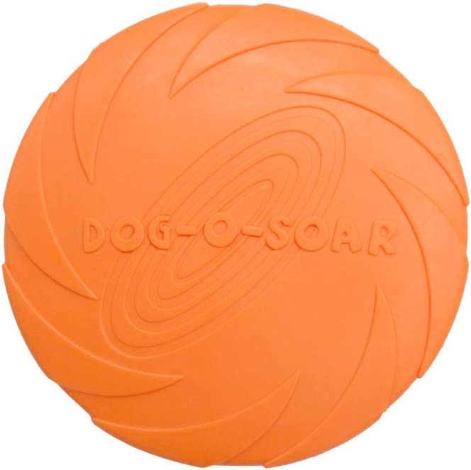 Dog Flying Department store Disc Toy All items free shipping 7.1 Pet inches Training Rubber Interactive