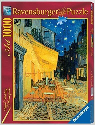 Ravensburger 15373 Van Gogh: Caffè di Notte, Puzzle per Adulti, Collezione Arte, 1000 Pezzi
