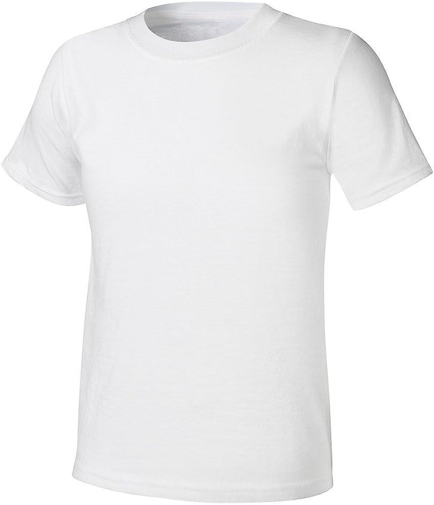 Hanes Boys Ultimate X-Temp Tagless White Crew 4-Pack