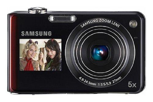 Samsung PL150 - Cámara Digital Compacta 12.4 MP - Rojo