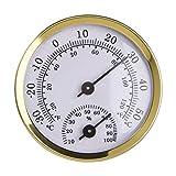 Baoblaze Mini Indoor Termometro Igrometro, di umidità di Temperatura Monitor Gauge, Casa Cucina Camera Patio Piantare Camera Rettile Incubatrice