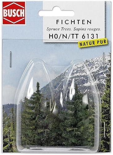 varios tamaños Realistic Fir Trees 2 X 55mm 55mm 55mm by Busch  Precio por piso