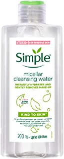 Simple Kind To Skin Cleansing Water Micellar, 200ml