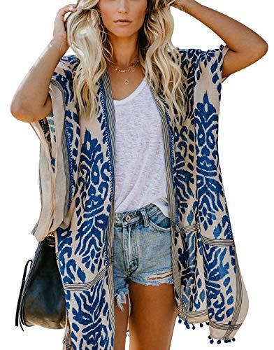 May Story Kimono de verano para mujer, estilo informal, play
