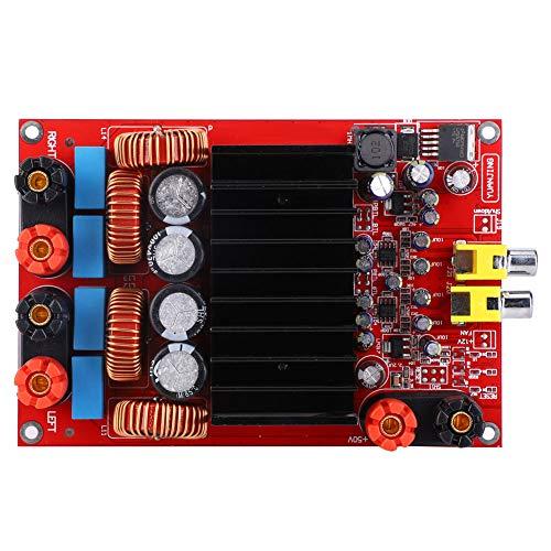 Tablero grueso del amplificador de potencia, amplificador de potencia audio 2x300W/4 ohmios 10% THD 65mA DC50V plástico hecho