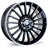 KESKIN KT15 BLACK LIP POLISH 8,5x19 ET45 5.00x112.00 Hub Hole 66.60 mm - Alu felgen