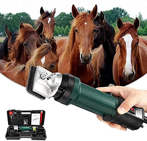 CFLDSG Cizallas eléctricas, Cuidado de Caballos, Herramientas de Aseo y Aseo Animal,...