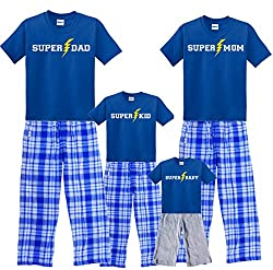 father and son matching pajama pants