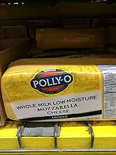 Polly-O Smoked Whole Milk Mozzarella Cheese 5 Lb