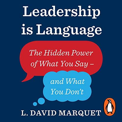 Leadership Is Language audiobook cover art
