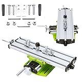 KingSaid Kreuztisch Koordinatentisch Kreuzsupport XY-Tisch für Säulenbohrmaschinen Fräsmaschinen Graviermaschine CNC Graviermaschinen Bohrmaschinen Bohrständer