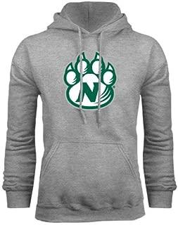 CollegeFanGear Northwest Missouri State Grey Fleece Hoodie 'Official Logo'