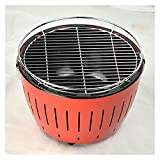 WSGYX Edelstahl Tragbare Outdoor Barbecue Kocher Grill Rauchlose Holzkohle Koreaner Barbecue BBQ Camping Grills BBQ Grill Barbecue