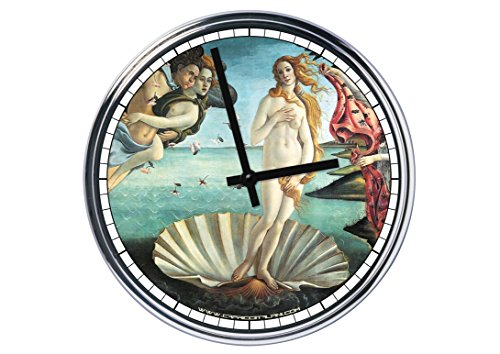 Reloj de pared Venus de Botticelli