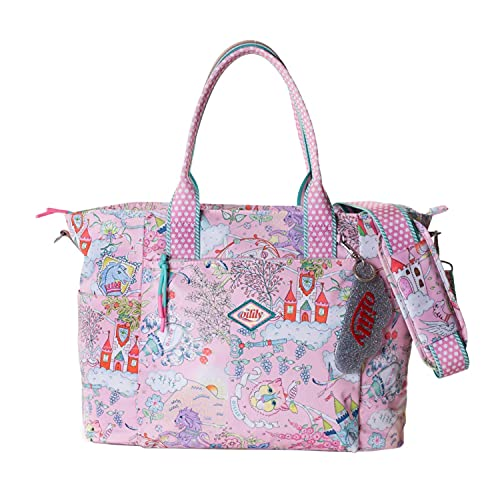 Oilily Baby Bag Rose Shadow Wickeltasche